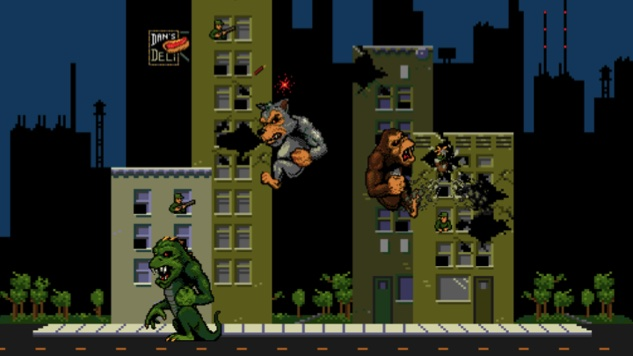 Rampage Video Game Characters